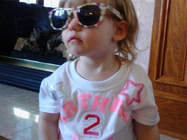 Eleanor – Age Two – 4/9/2105 to 4/8/2016